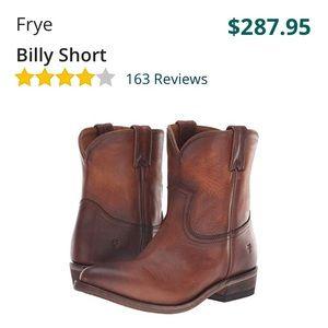 Frye Billy Shorty Boots